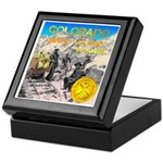 Colorado mining history Keepsake Box