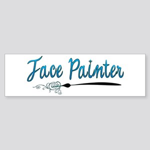 face painter! Bumper Sticker