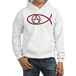 Anarchy Ichthus Hooded Sweatshirt