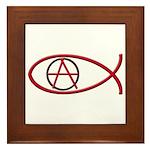 Anarchy Ichthus Framed Tile