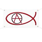 Anarchy Ichthus Banner