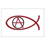 Anarchy Ichthus Large Poster