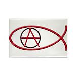 Anarchy Ichthus 100 Rectangular Magnets