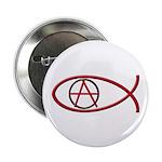 Anarchy Ichthus Button