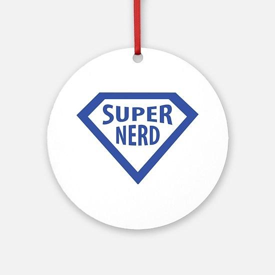 super nerd icon Ornament (Round)
