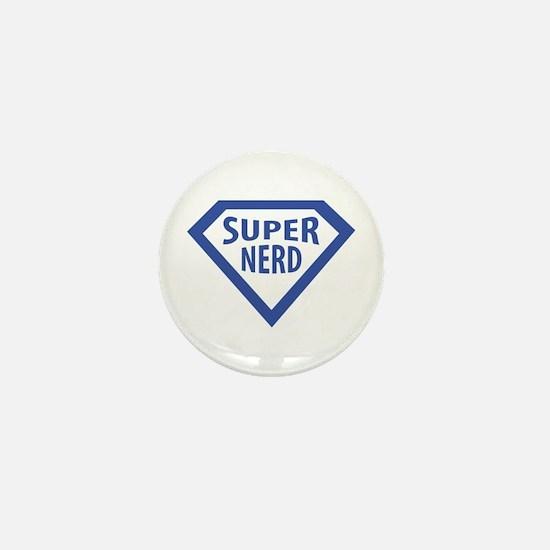 super nerd icon Mini Button