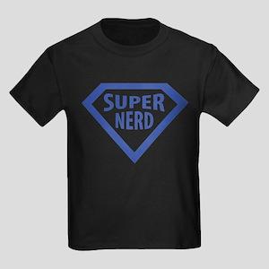 super nerd icon Kids Dark T-Shirt