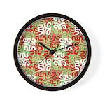 Swanky Mo Sage Wall Clock