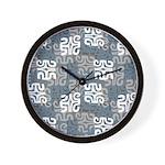 Swanky Mo Graphite Wall Clock