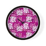 swanky Mo Grape Wall Clock