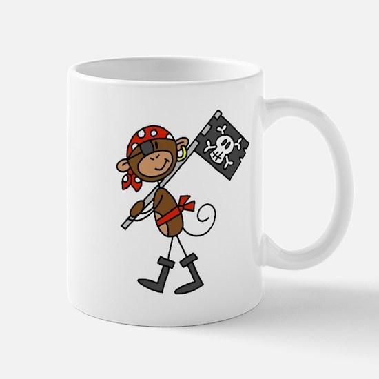 Pirate with Flag Mug