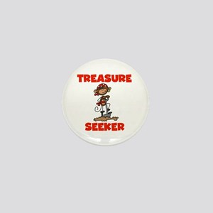 Treasure Seeker Mini Button
