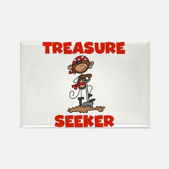 Treasure Seeker Rectangle Magnet