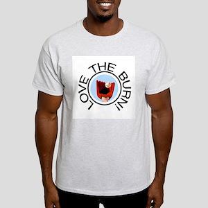 Love the Burn Baseball Light T-Shirt