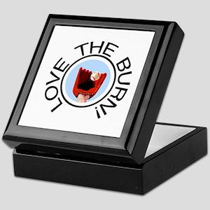 Love the Burn Baseball Keepsake Box