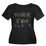 You Had Me at Woof Women's Plus Size Scoop Neck Da