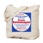 Sotomayor Activist Judge Tote Bag