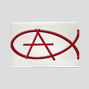 Anarchy Ichthys Rectangle Magnet