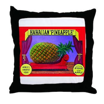 Produce Sideshow: Pineapple Throw Pillow