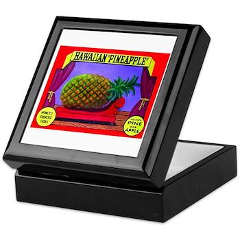 Produce Sideshow: Pineapple Keepsake Box