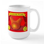 Produce Sideshow: Pear Large Mug