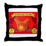 Produce Sideshow: Pear Throw Pillow