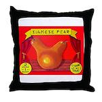 Produce Sideshow: Pear Throw Pillow
