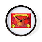 Produce Sideshow: Pear Wall Clock