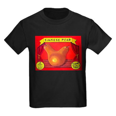 Produce Sideshow: Pear Kids Dark T-Shirt