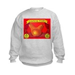 Produce Sideshow: Pear Kids Sweatshirt