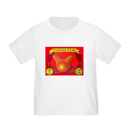 Produce Sideshow: Pear Toddler T-Shirt