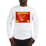 Produce Sideshow: Pear Long Sleeve T-Shirt