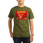 Produce Sideshow: Pear Organic Men's T-Shirt (dark