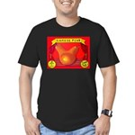 Produce Sideshow: Pear Men's Fitted T-Shirt (dark)