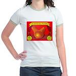 Produce Sideshow: Pear Jr. Ringer T-Shirt