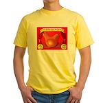 Produce Sideshow: Pear Yellow T-Shirt