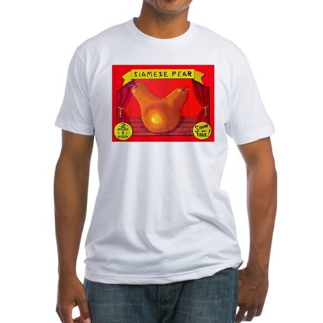 Produce Sideshow: Pear Fitted T-Shirt