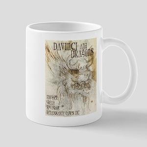Da Vinci and Dragons 001 Mug