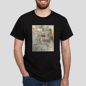 Da Vinci and Dragons 001 Dark T-Shirt