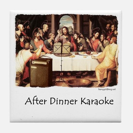 JC Karaoke Tile Coaster