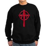 Anarchist Crucifix Sweatshirt (dark)