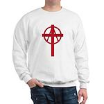 Anarchist Crucifix Sweatshirt