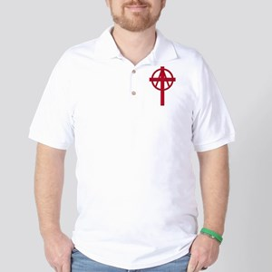 Anarchist Crucifix Golf Shirt