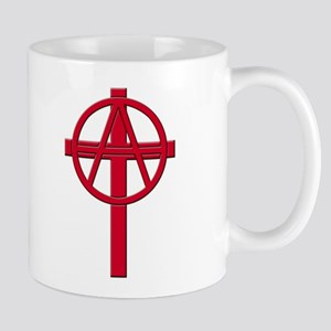 Anarchist Crucifix Mug