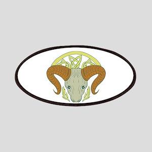 Ram Head Celtic Knot Patch