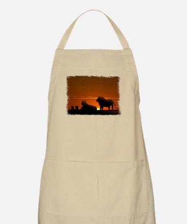 Lion Family BBQ Apron