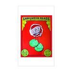 Produce Sideshow: Lettuce Rectangle Sticker