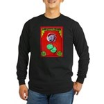 Produce Sideshow: Lettuce Long Sleeve Dark T-Shirt