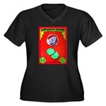 Produce Sideshow: Lettuce Women's Plus Size V-Neck