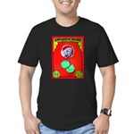 Produce Sideshow: Lettuce Men's Fitted T-Shirt (da